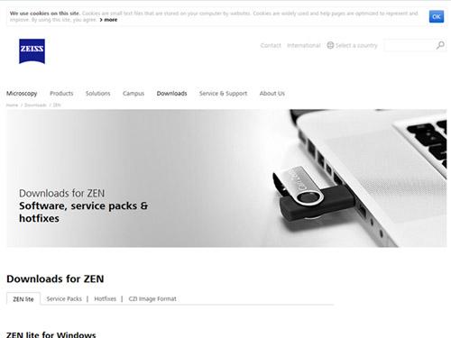 zeiss zen downloads