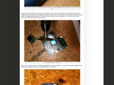 cpu unterm mikroskop