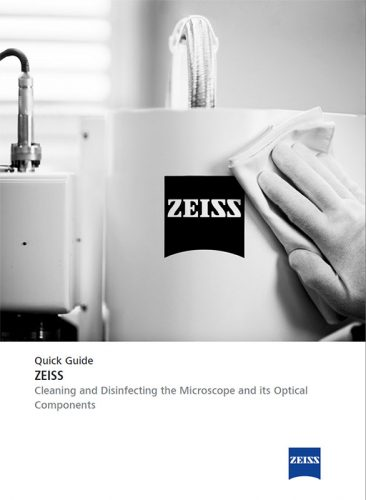 PDF: Quick Guide - Cleaning and Disinfecting the Microscope and its optical Components